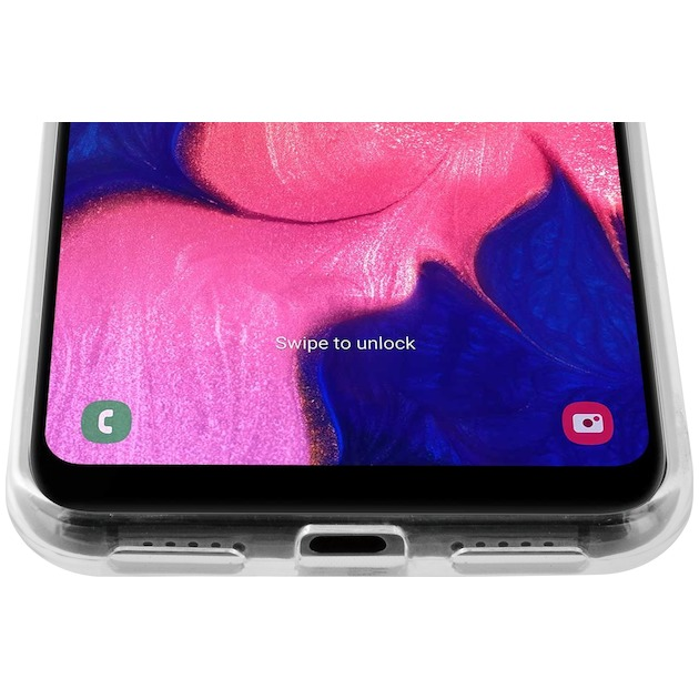 Azuri Back Cover TPU voor Galaxy A10 transparant