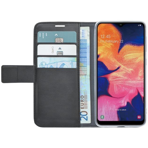 Azuri Azuri walletcase - magnetic closure & 3 cardslots - Samsung A10 zwart