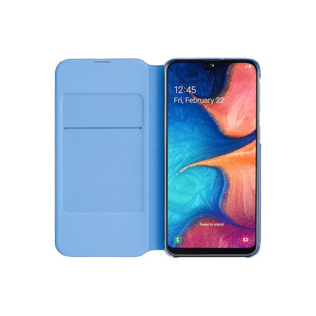 Samsung Wallet Cover voor Galaxy A20e zwart