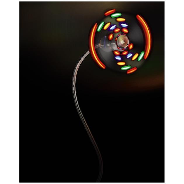 Hama USB ventilator met gekleurde LED