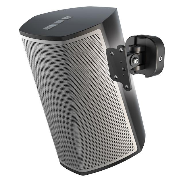 Hama Universele muurbeugel voor draadloze luidsprekers zwart