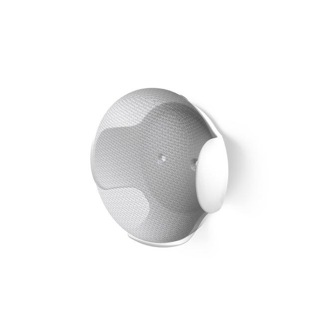 Hama Wandhouder voor Google Home mini wit