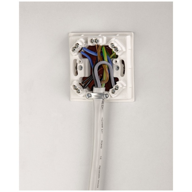Xavax Aansluitkabel voor elektrische kookplaat  2,5m wit