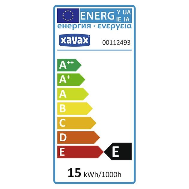 Xavax Koelkast/diepvrieslamp 25W E14 peervorm helder