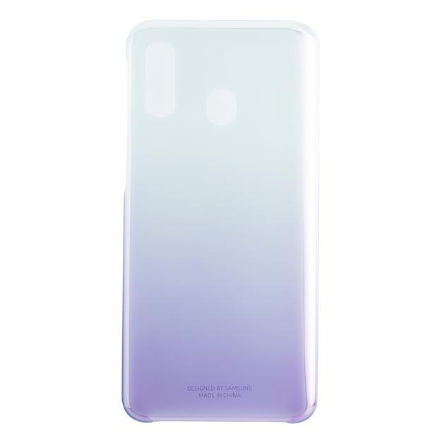 Samsung Gradation Cover voor Galaxy A40 violet