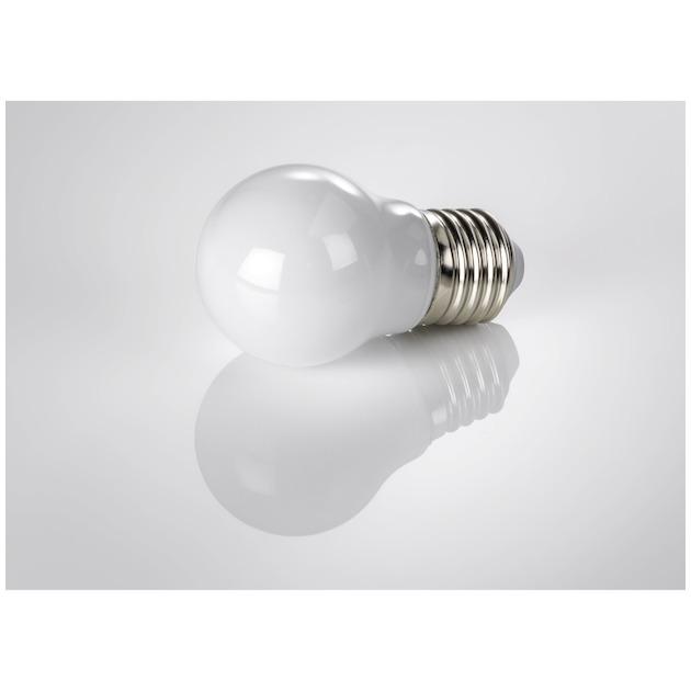 Xavax Ledlamp, E27, 250lm vervangt 25W, druppellamp volledig glas wit