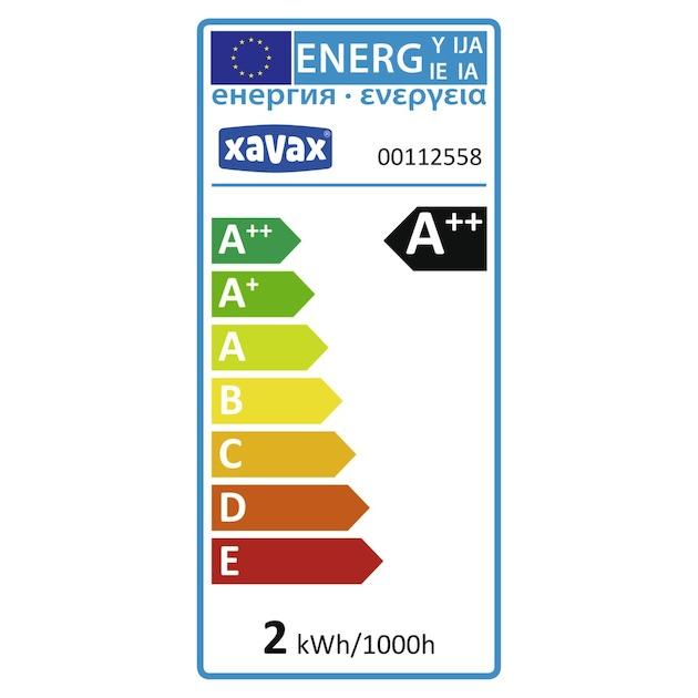 Xavax Led-gloeidraad, E14, 250lm vervangt 25W, druppellamp wit