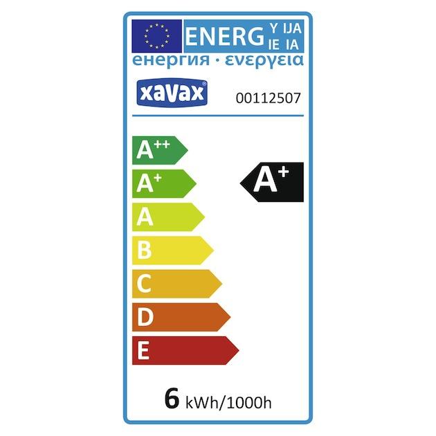 Xavax LED lamp, E14, 530lm vervangt 43Watt, daglicht
