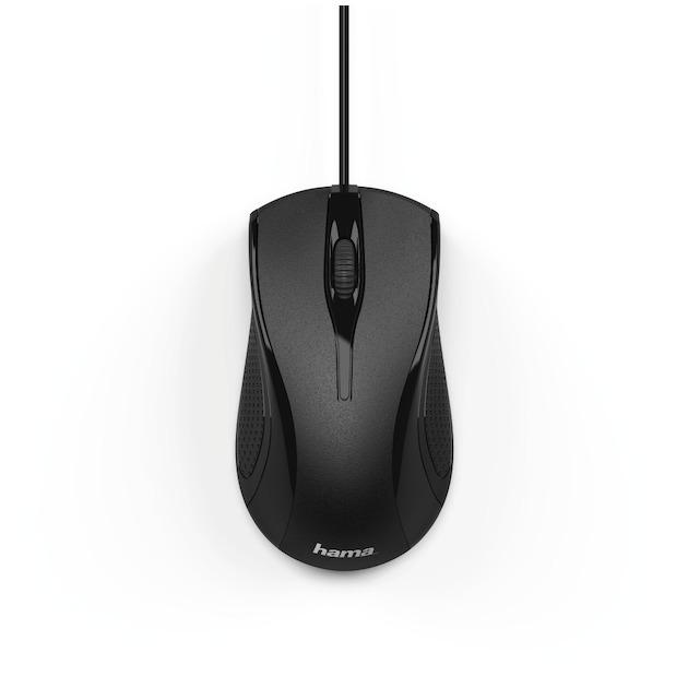 Hama Optische muis met 3 knoppen, MC-200 zwart