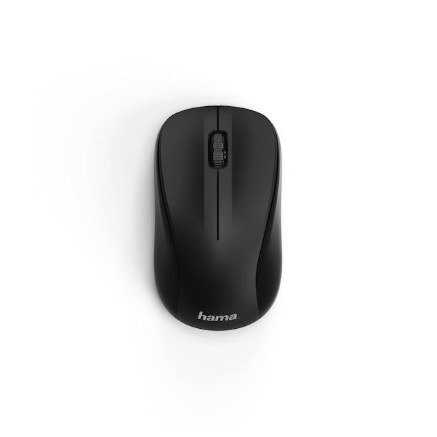 Hama Optische draadloze muis MW-300, 3 knoppen zwart