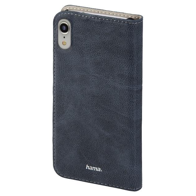 Hama Booklet guard pro Iphone XR blauw