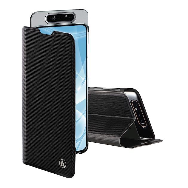 Hama Booklet slim Pro Galaxy A80 zwart