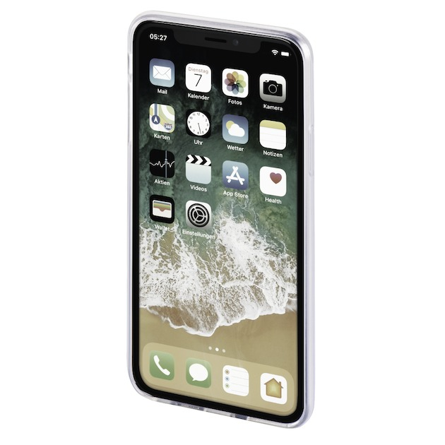 Hama Cover crystal clear Iphone XS transparant