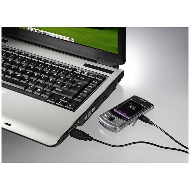 Hama Laadkabel micro-USB 1.4 meter zwart