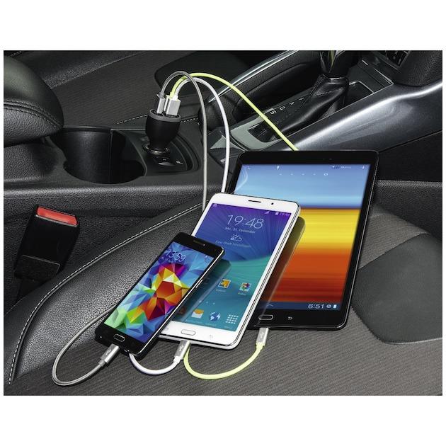 Hama Premium autoladerpicco  TRIPLE USB