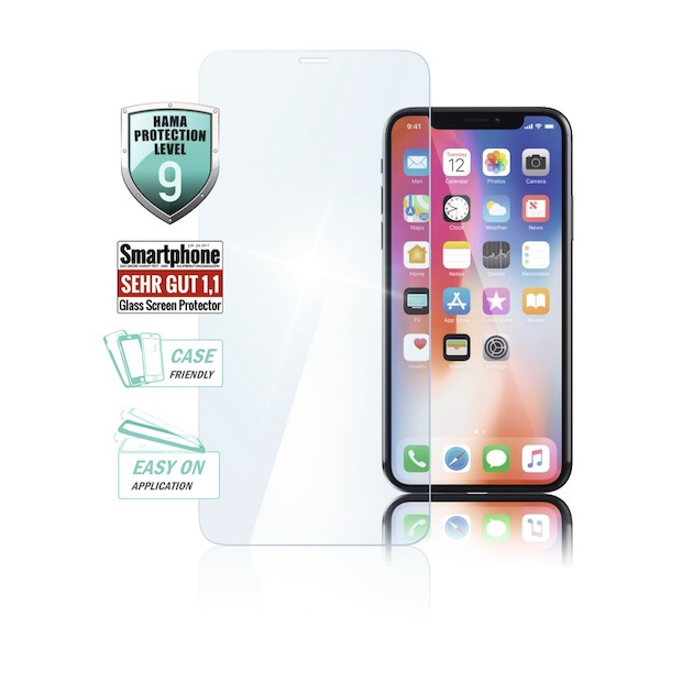 Hama Premium screenprotector voor iPhone X/XS