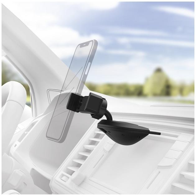 Hama Smartphonehouder auto 6-8 CM CD sleuf