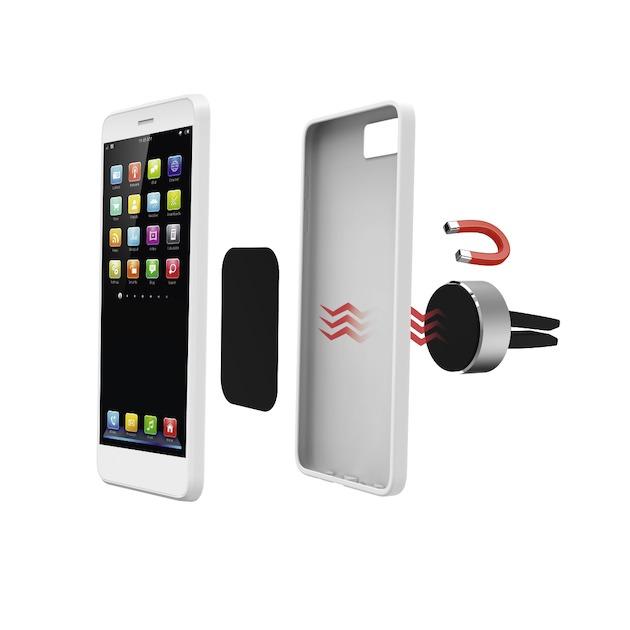 Hama Smartphonehouder magnet ALU zwart