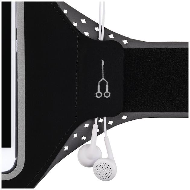 Hama Sport-armband running smartphones XL zwart
