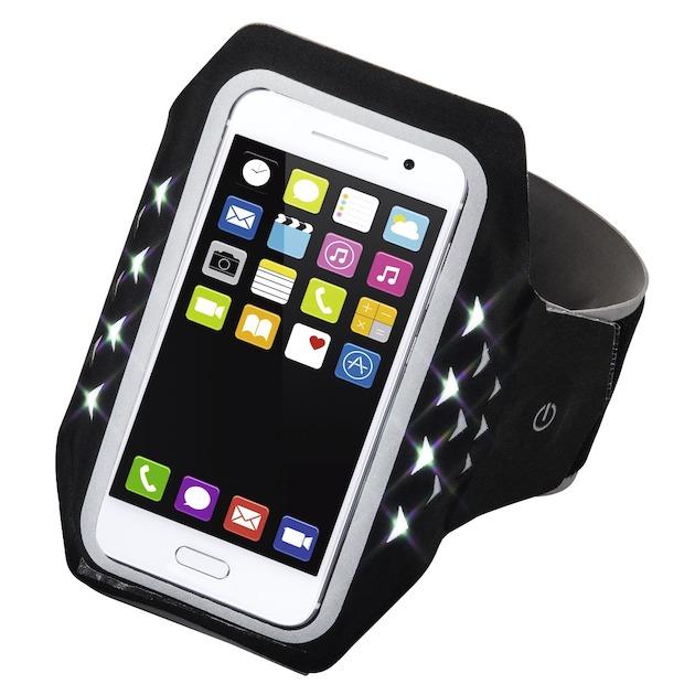 Hama Sport-armband running smartphones XXL LED