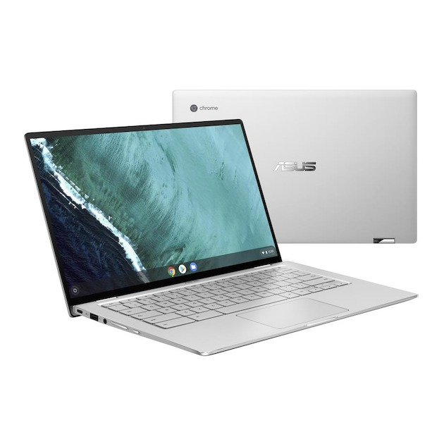 Asus Chromebook Flip C434TA-E10013 zilver