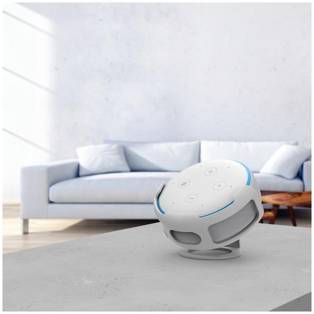 Hama Tafelstandaard voor Amazon Echo Dot (3e generatie),  wit