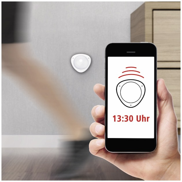 Hama Wifi-bewegingsmelder wit