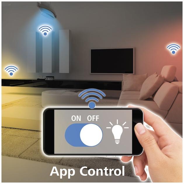 Hama Wifi-ledlamp, E27, 10W, , dimbaar wit