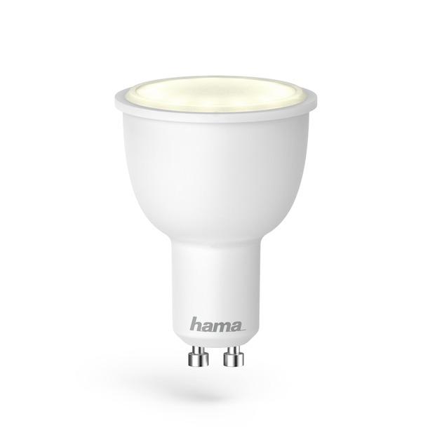 Hama Wifi-ledlamp, GU10, 4,5W, RGB, dimbaar