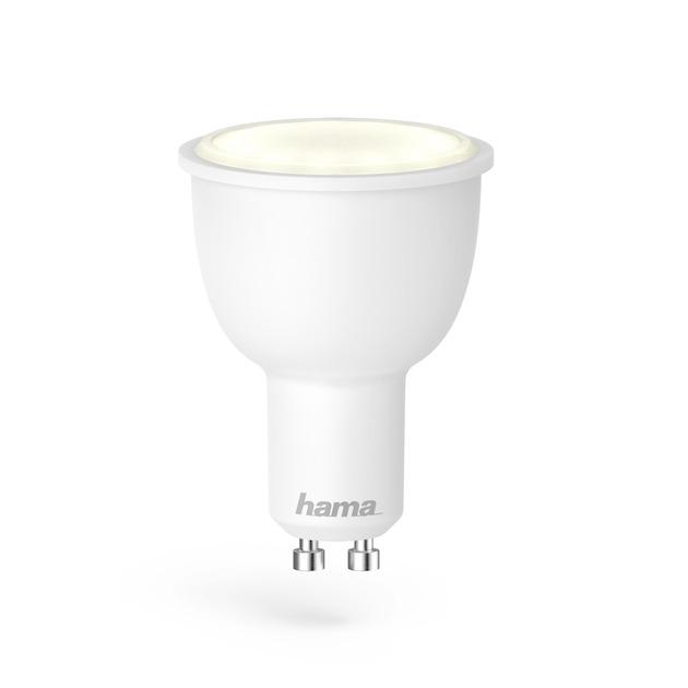 Hama Wifi-ledlamp, GU10, 4.5W, , dimbaar wit