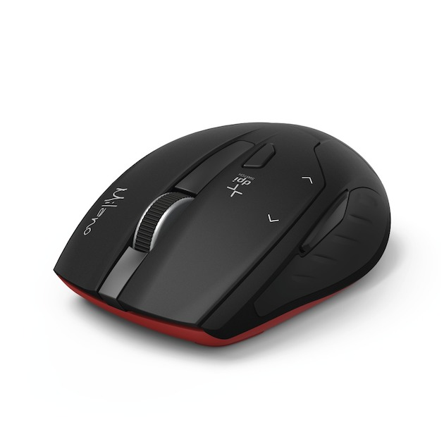 Hama Compacte draadloze muis Milano, zwart