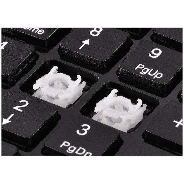 Hama Slimline numeriek toetsenbord SK140   zwart