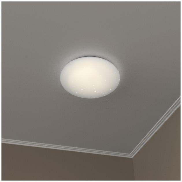 Hama Wifi-plafondlamp, glittereffect, rond, 30 cm