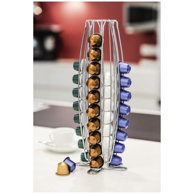Xavax Capsulehouder 'Torre' voor Nespresso 40 stuks