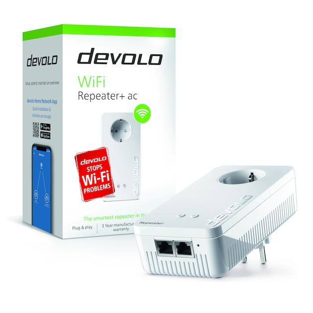 Devolo WiFi Repeater + AC Netwerk