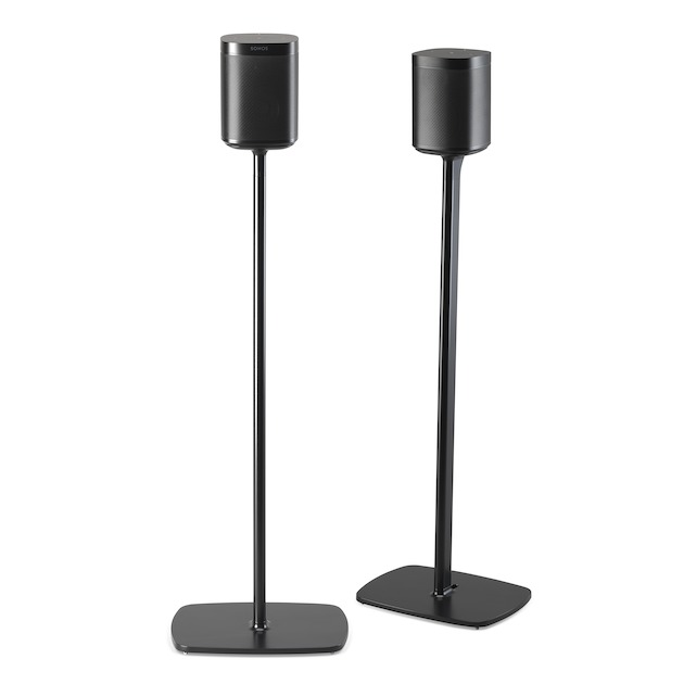 Flexson Sonos One standaard set Zwart