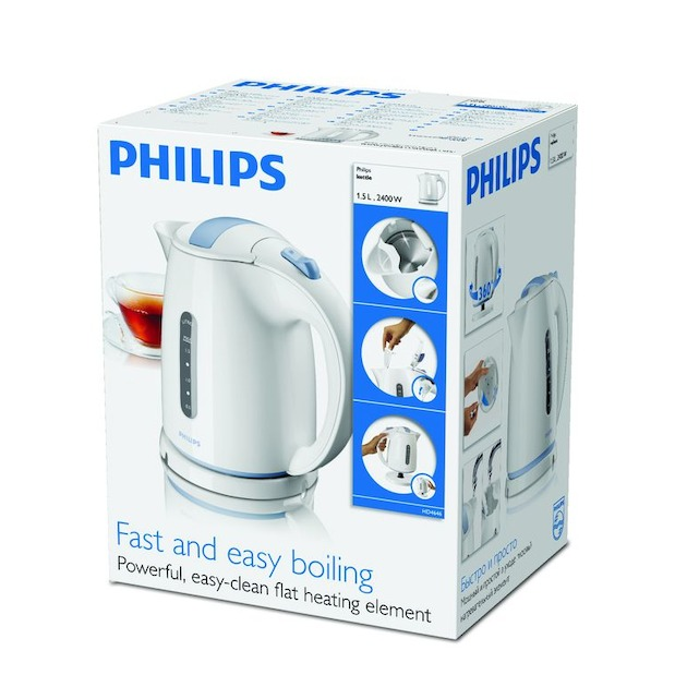 Philips HD4646/70 blauw/wit