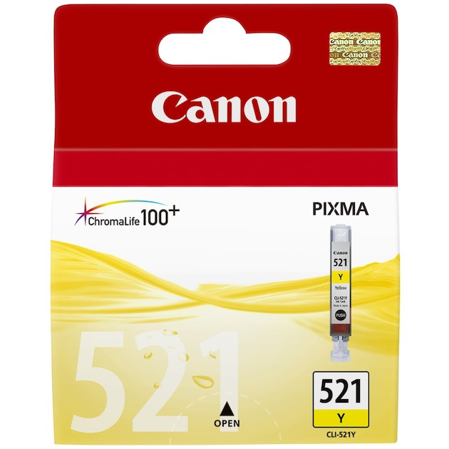 Canon Cli-521 geel