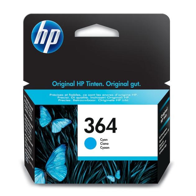 HP 364 cyaan