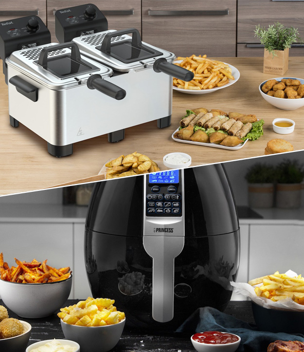 Verschillen tussen friteuses en airfryers; Expert legt uit!