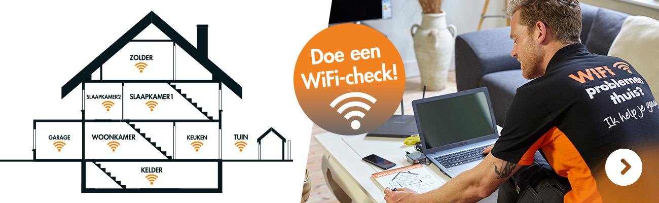 Doe een Wifi check bij Expert