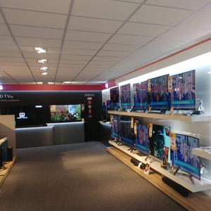 TV wand Amsterdam