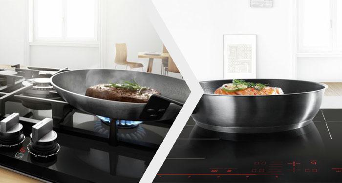 Koken op gas vs. koken op inductie | Expert