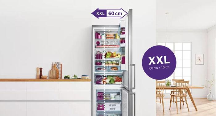 De Bosch KGN49XIEA: dé XXL koel-vriescombinatie met veel capaciteit| Expert