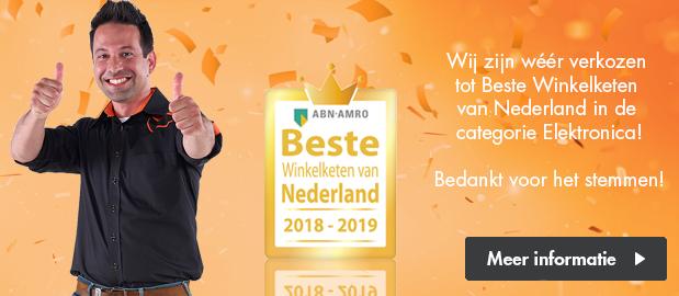 Beste Winkelketen 2018-2019!