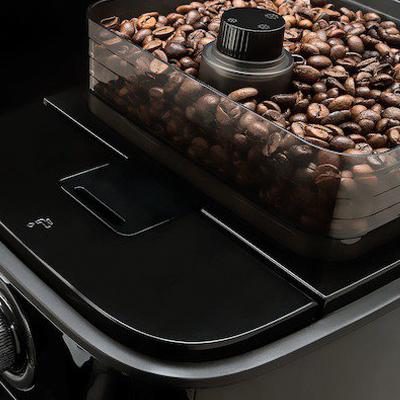 Bonenreservoir van het koffiezetapparaat