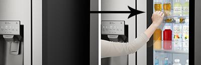 LG Instaview knock knock koelkast