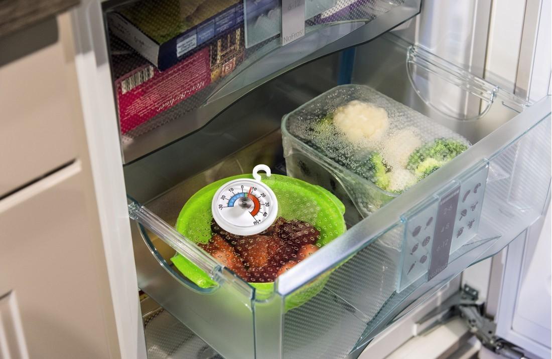 Xavax koelkast en diepvries thermometer rond