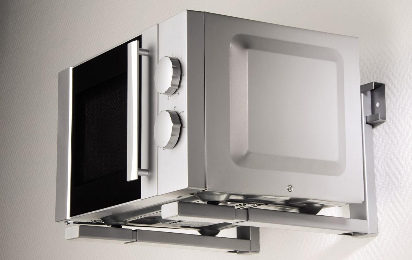 Xavax muurbeugel magnetron of oven zilver