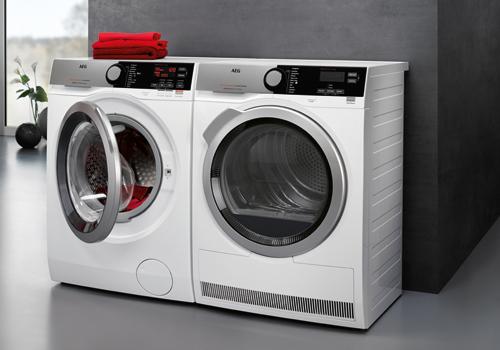 AEG wasmachine met AEG wasdroger